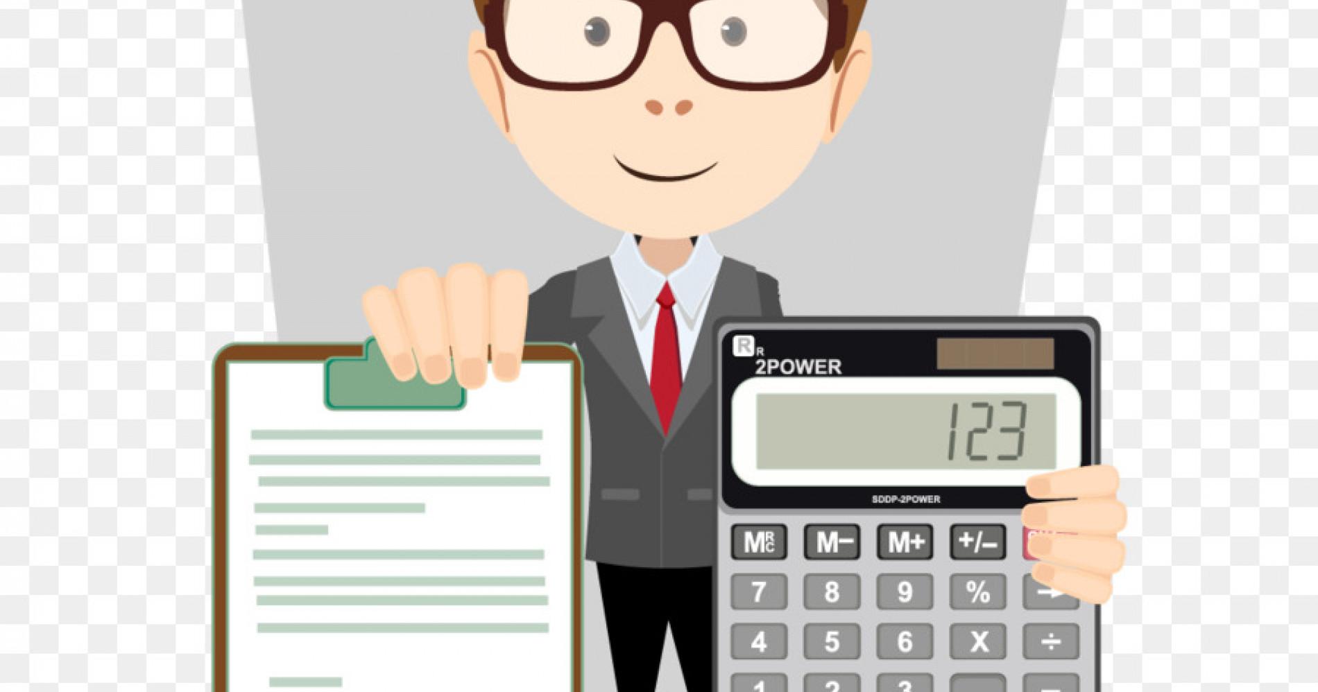 Akuntan Dadakan (Sumber gambar:dlpng.com)