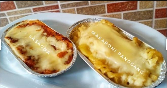 Lasagna dan makaroni panggang