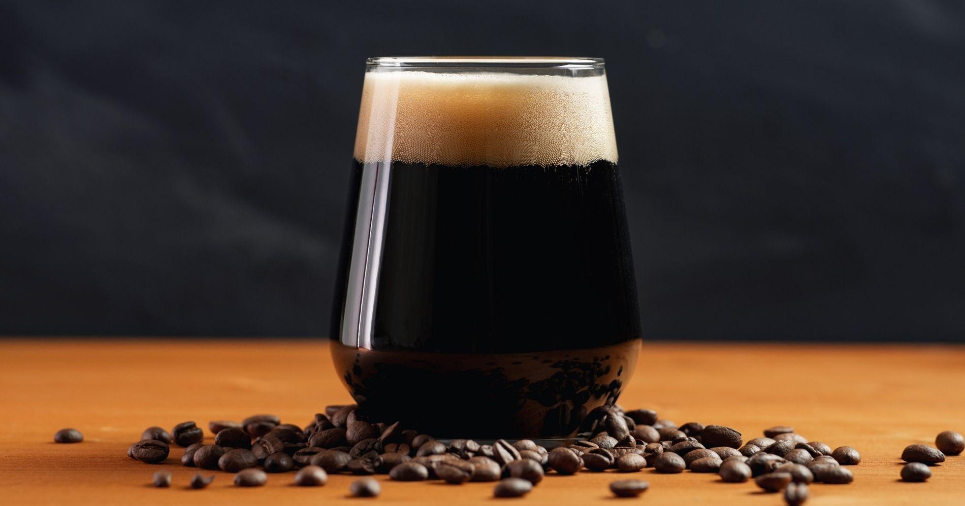 Coffee Beer Illustration - Canva