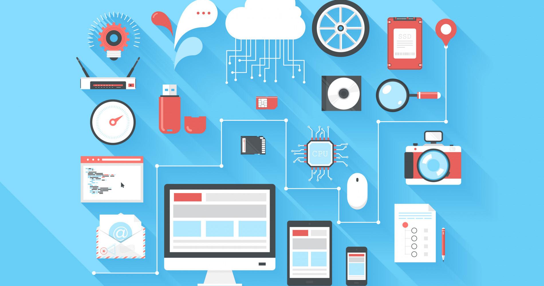 ilustrasi dalam strategi bisnis melalui berbagai media informasi (Sumber gambar : Storyblocks)