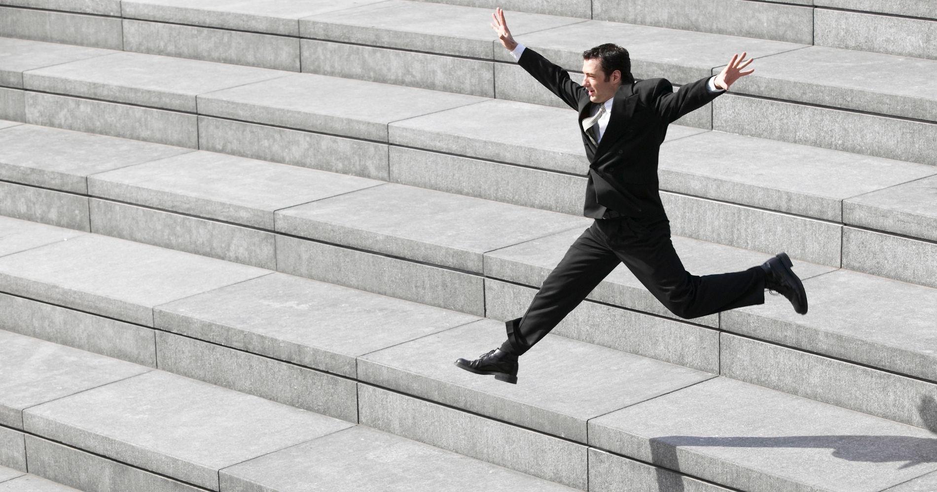Financial Steps - Canva