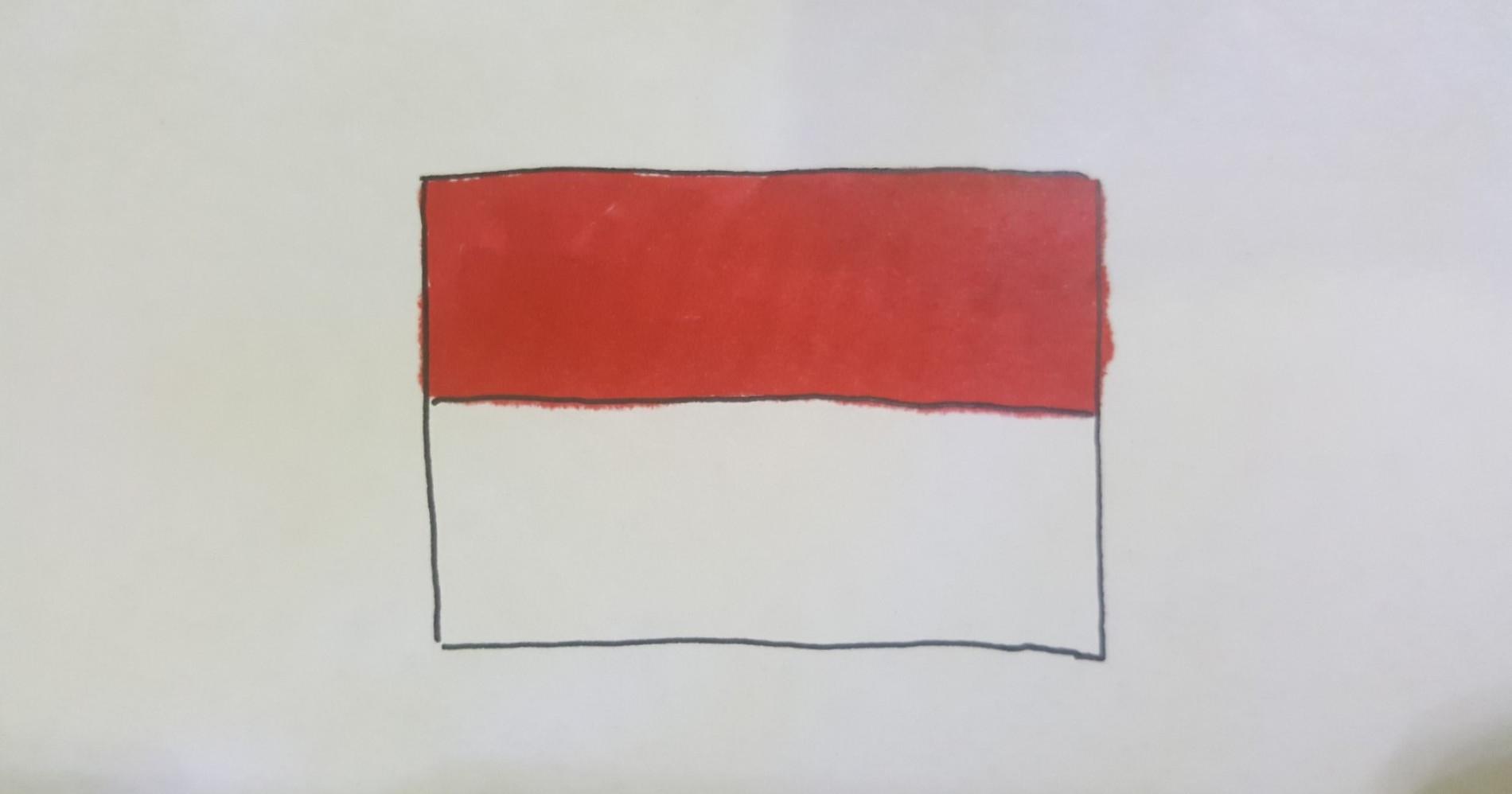 Bendera NKRI (Sumber gambar: Dokumentasi sendiri)