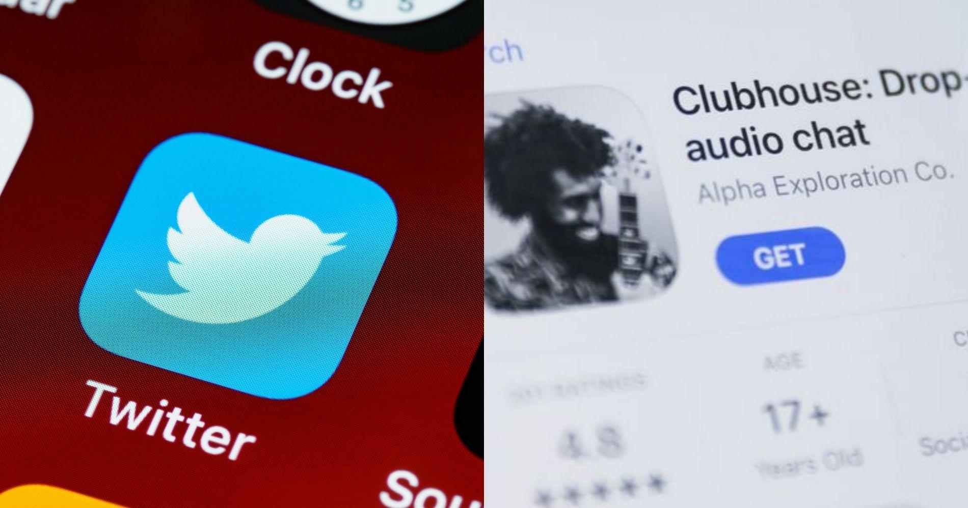 Twitter Diskusi Ambil Alih Clubhouse - Canva