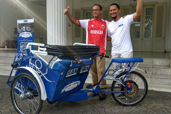 Becak ( Sumber : mediaindonesia )