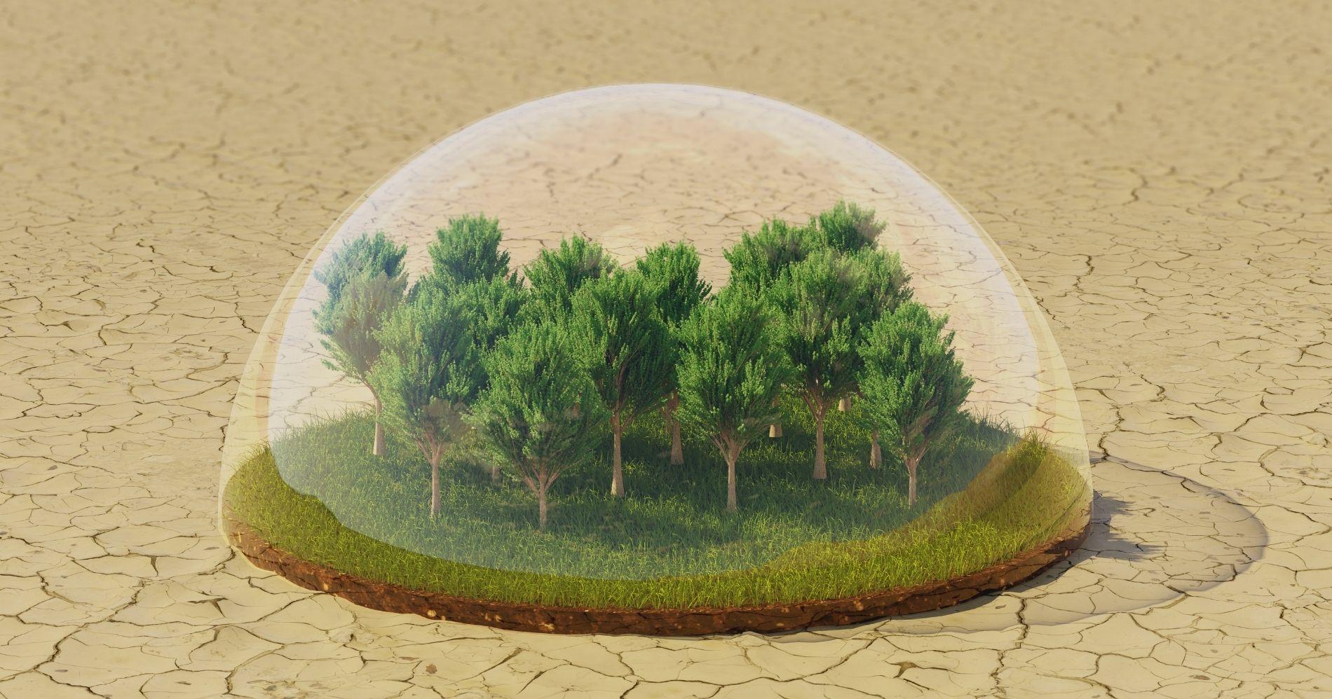 Creo Syndicate Organisasi Peduli Lingkungan Illustration Web Bisnis Muda - Canva