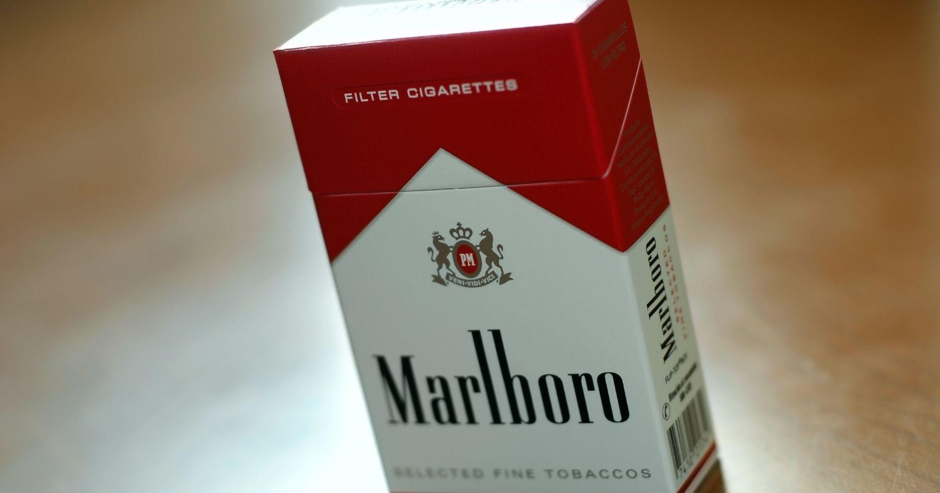 Philip Morris Marlboro Lirik Peluang Pasar Ganja Illustration Web Bisnis Muda - Canva
