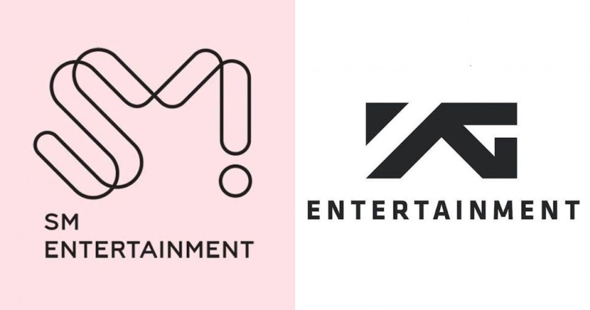 SM Entertainment dan YG Entertainment ( Sumber : Koreaboo )