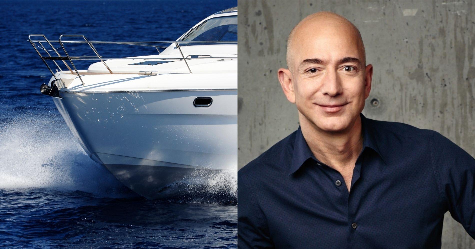 Jeff Bezos Bangun Kapal Pesiar, Penjualan Superyacht Meningkat Illustration Web Bisnis Muda - Pinterest