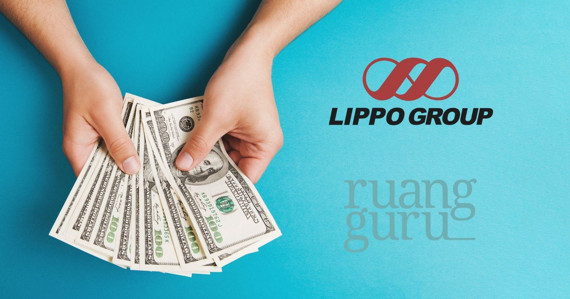 Lippo Group & Ruangguru Illustration Web Bisnis Muda - Canva
