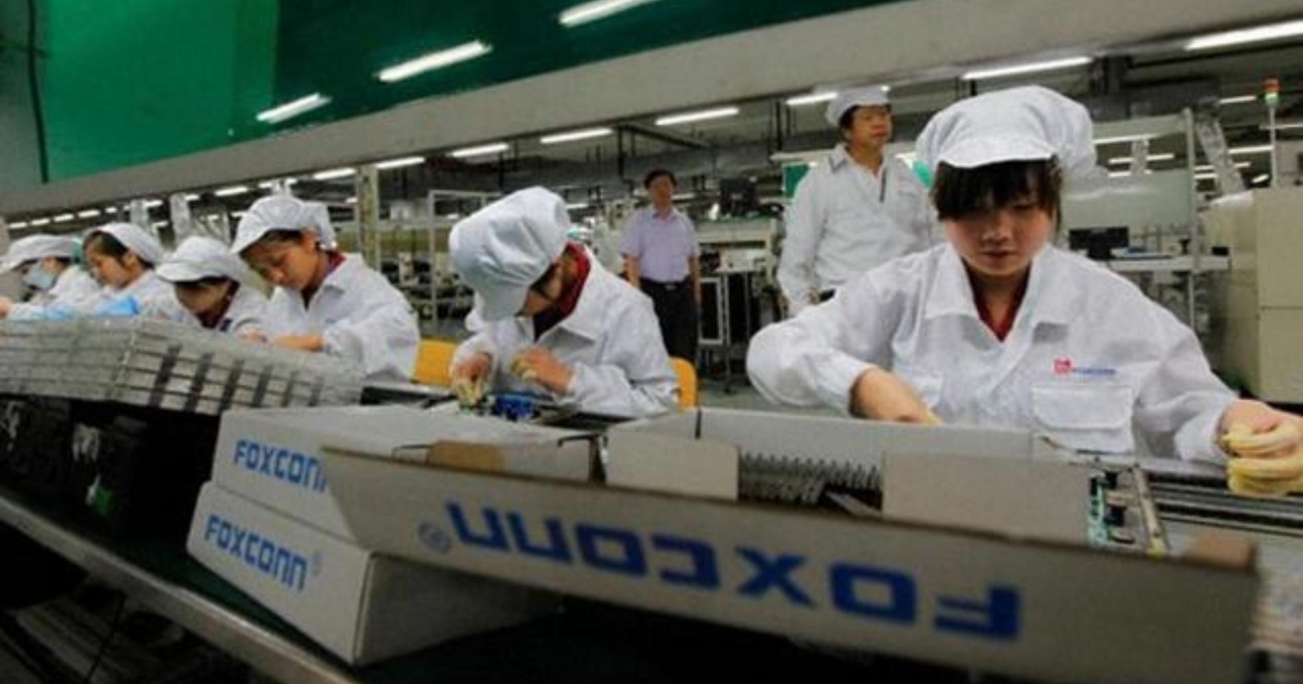 Foxconn Factory Web Bisnis Muda - Google