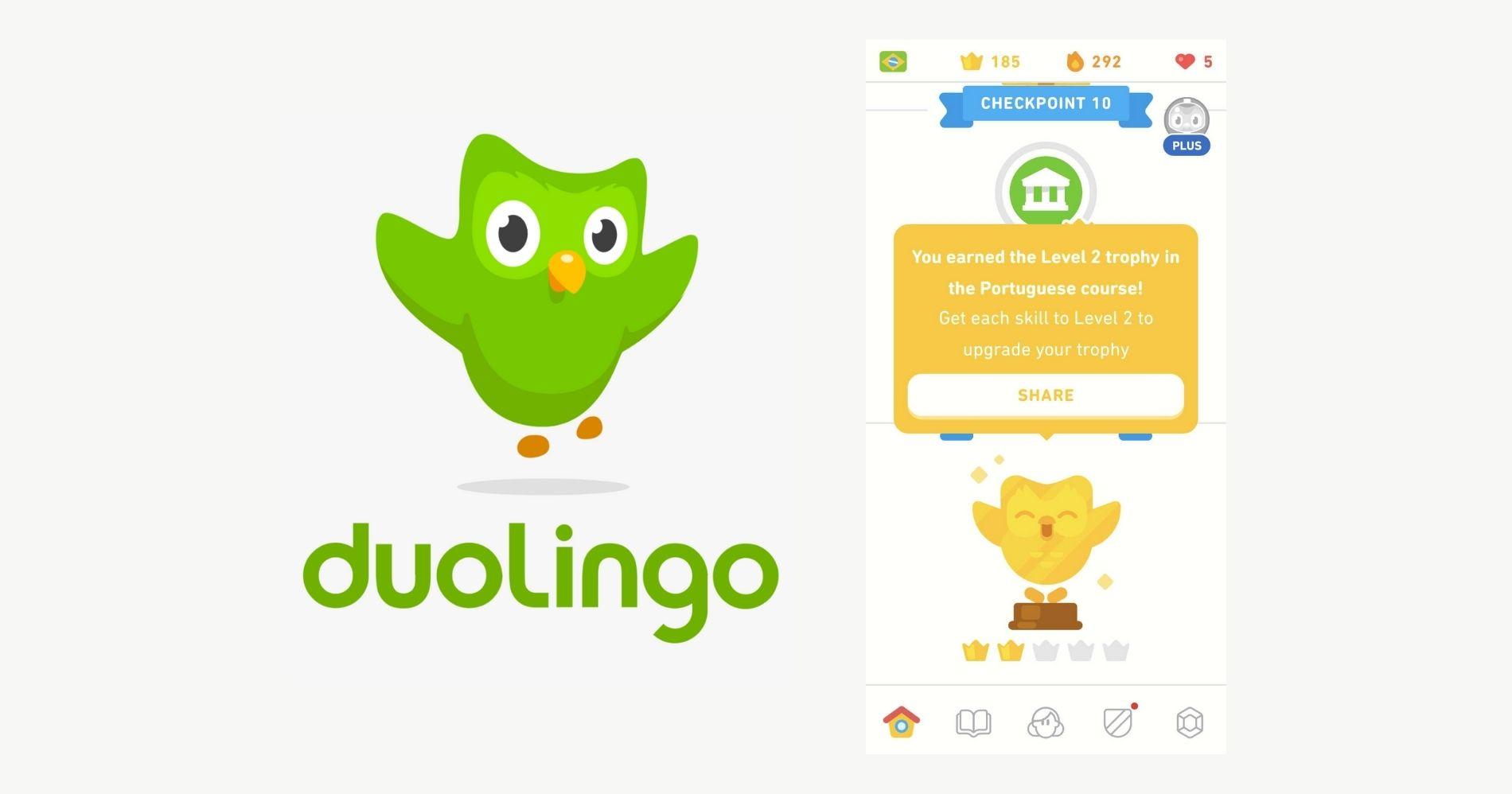 Duolingo Web Bisnis Muda - Google