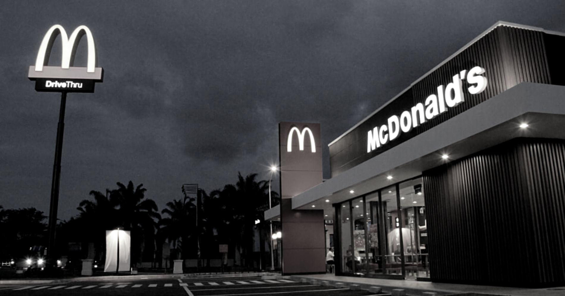 McDonald's Outlet Illustration Web Bisnis Muda - mcdonalds.co.id