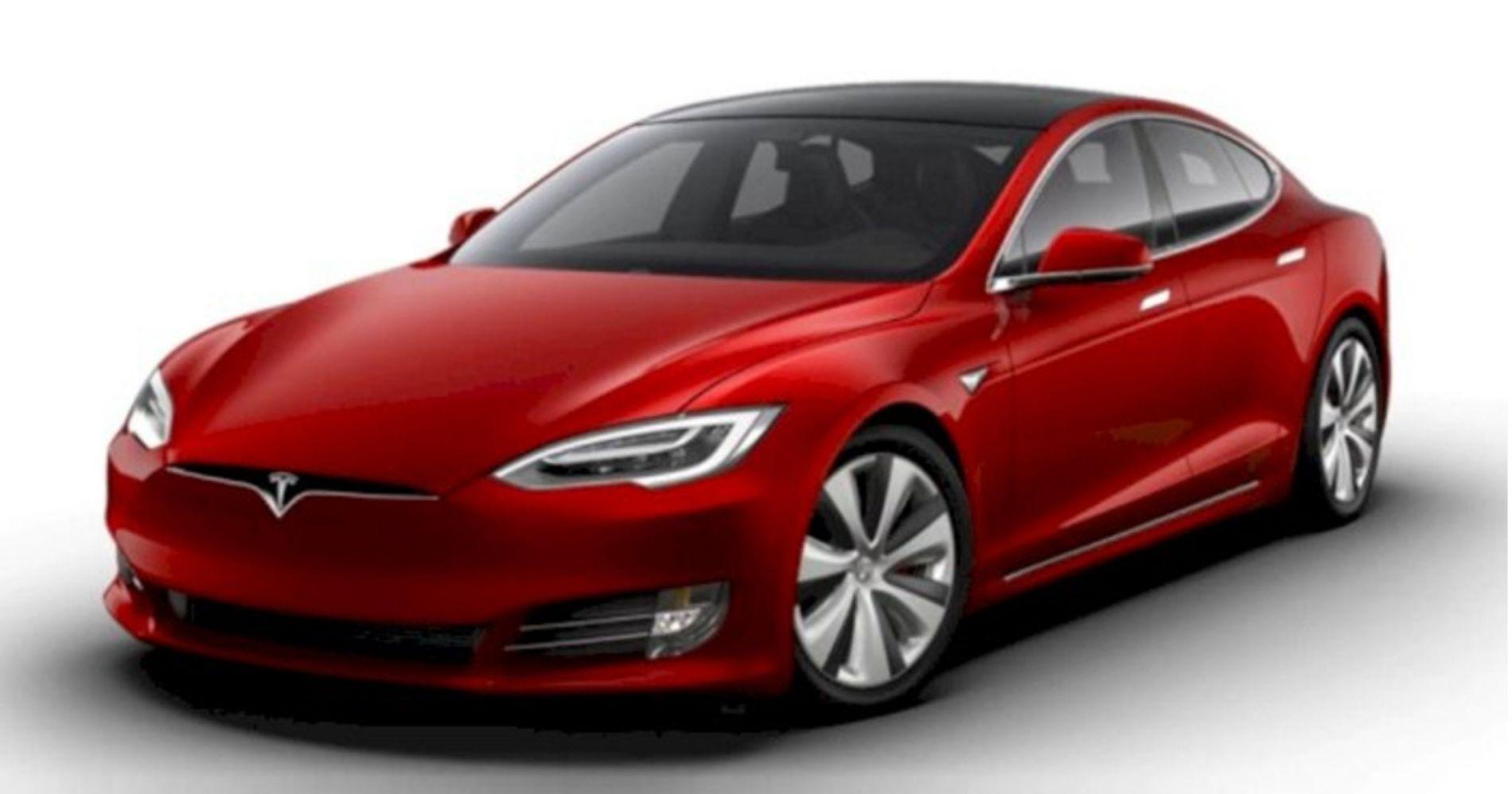 Tesla Model S Plaid Illustration Web Bisnis Muda - Image: Tesla