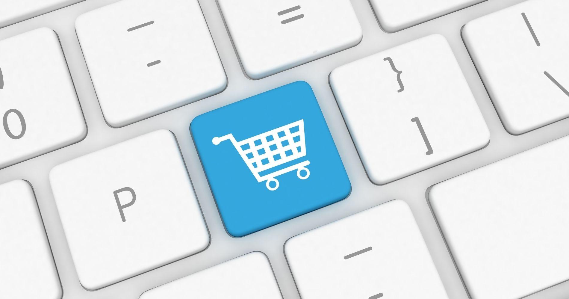 E-commerce Enabler Illustration Web Bisnis Muda - Canva