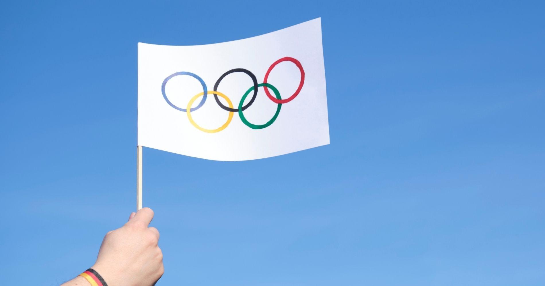 Olimpiade Illustration Bisnis Muda - Canva