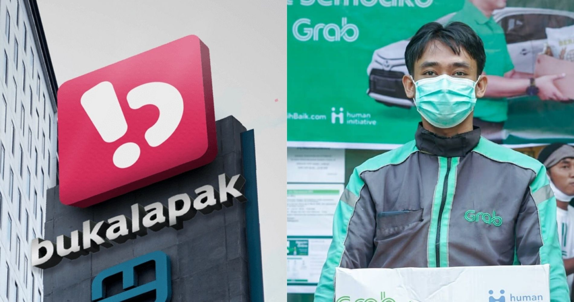EMTK Kerjasama dengan Grab Lewat Bukalapak Illustration Web Bisnis Muda - Image: wikimedia - Grab Indonesia