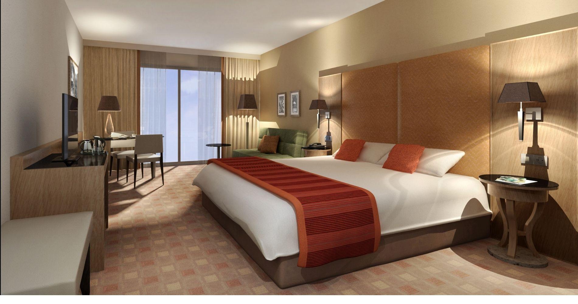 Ilustrasi Gambar Kamar Hotel Berbintang (Canva.com)