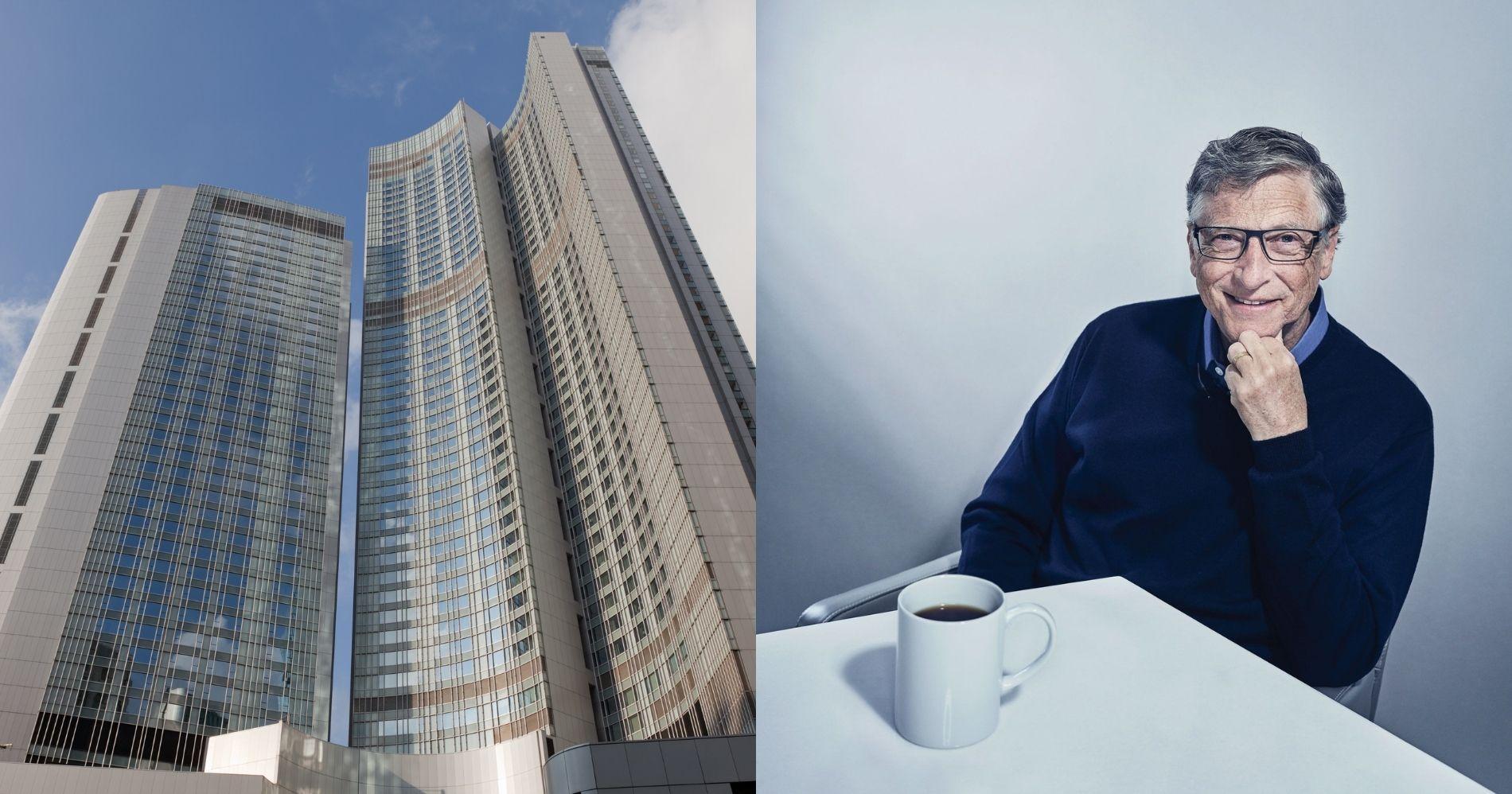 Perusahaan Bill Gates Tambah Kepemilikan Four Seasons Hotel Illustration Web Bisnis Muda - Image: Canva - Pinterest