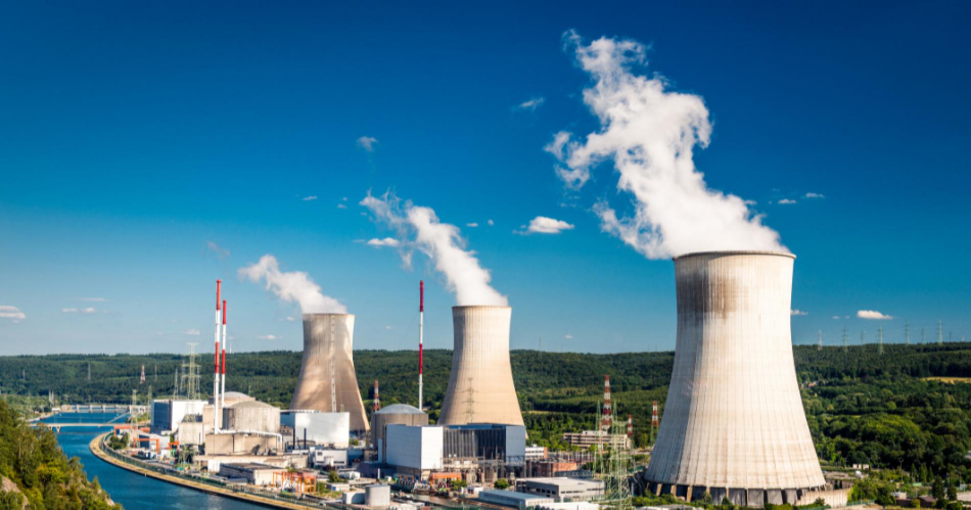 Nuclear Energy Illustration Web Bisnis Muda - Canva