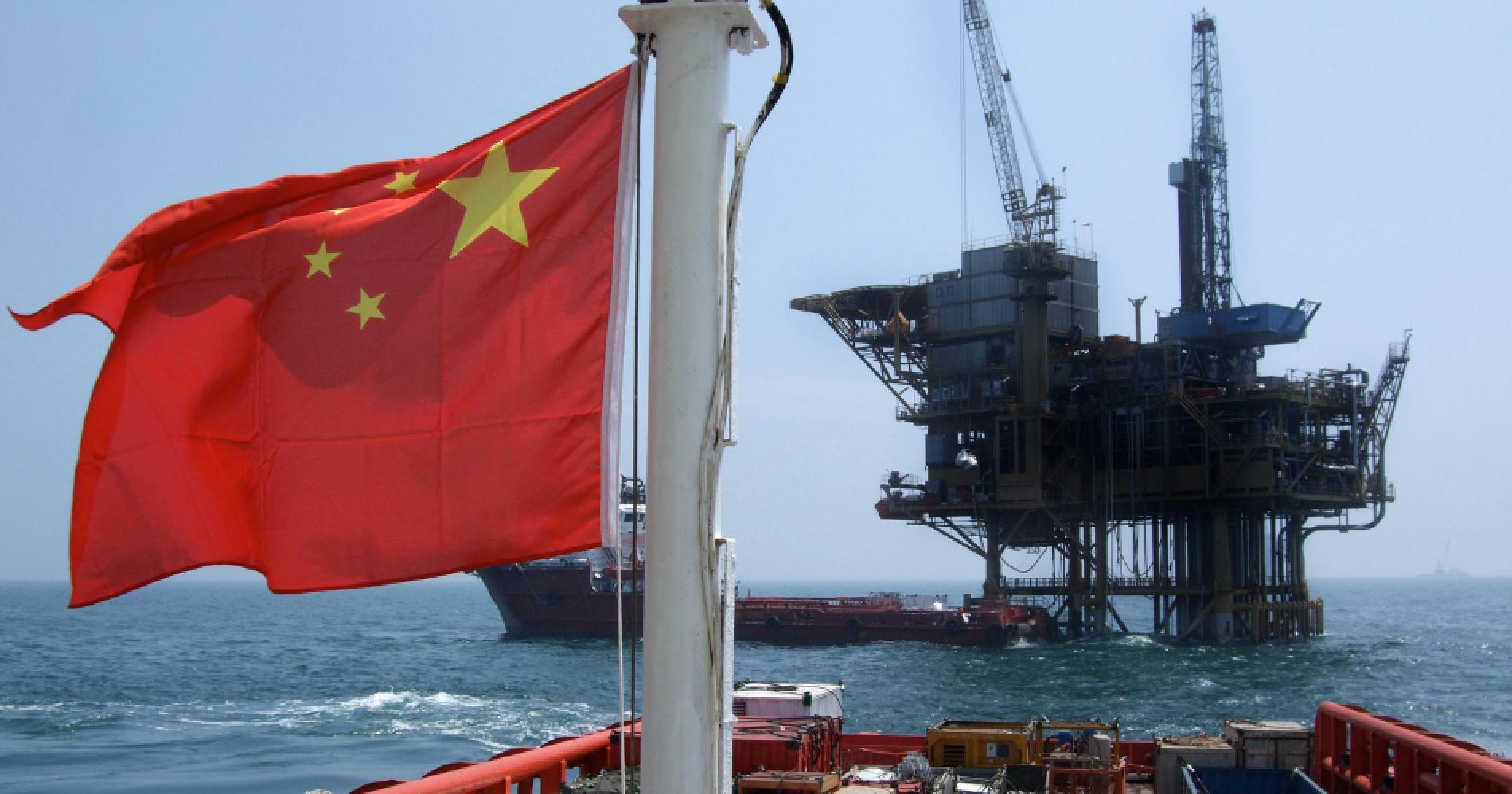 China Oil Illustration Web Bisnis Muda - Canva