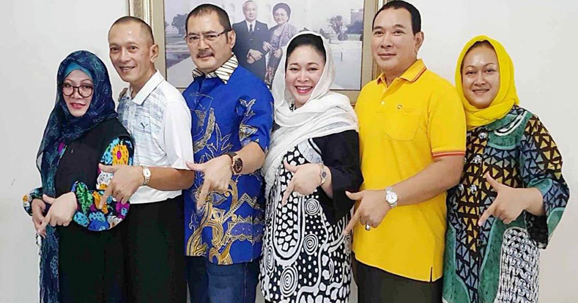 Sri Mulyani Kejar Utang Anak Soeharto Illustration Web Bisnis Muda - Image: Partai Berkarya