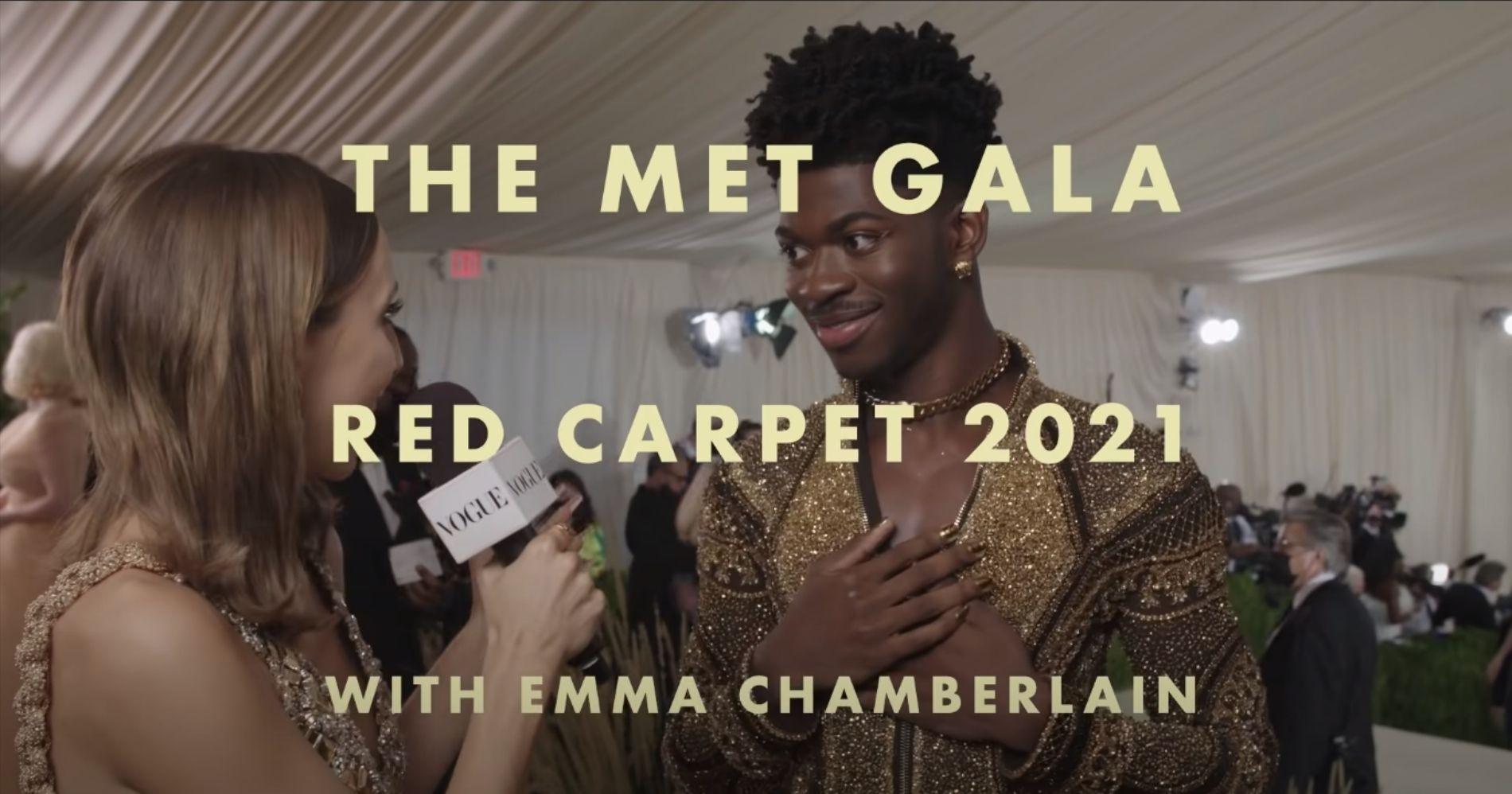 Met Gala 2021 Illustration Web Bisnis Muda - Image: Kanal Youtube Vogue