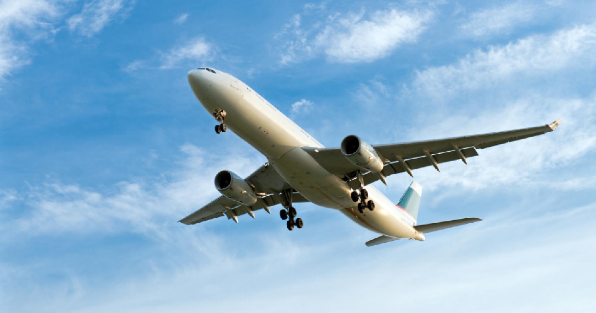 Aviation Illustration Web Bisnis Muda - Canva