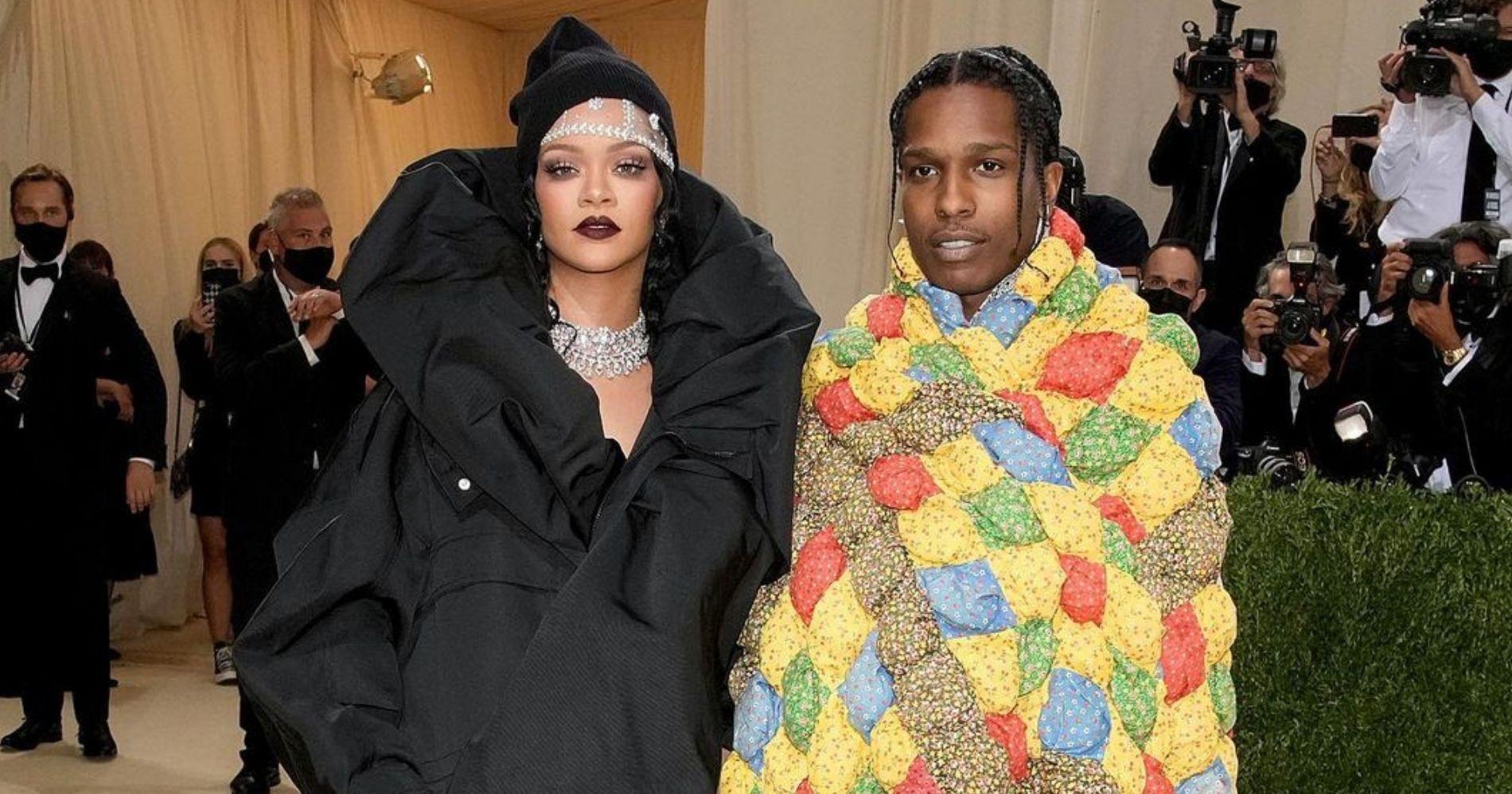 Vogueparis - Asap Rocky dan sang pacar Rihanna