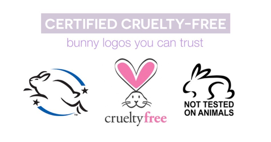 Cruelty Free, No Animal Testing, and Leaping Bunny Logo
