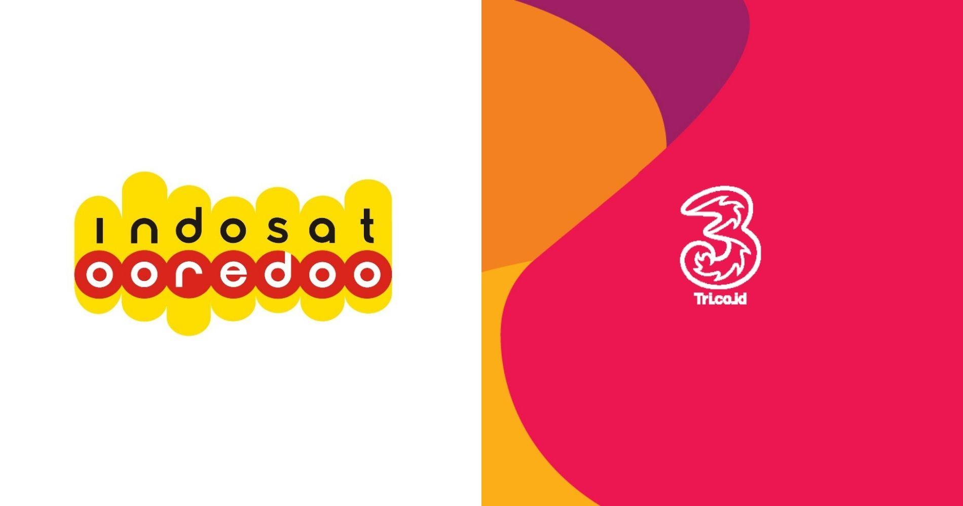 Merger Indosat-Tri Illustration Web Bisnis Muda - Image: Indosat Ooredoo & Tri Indonesia