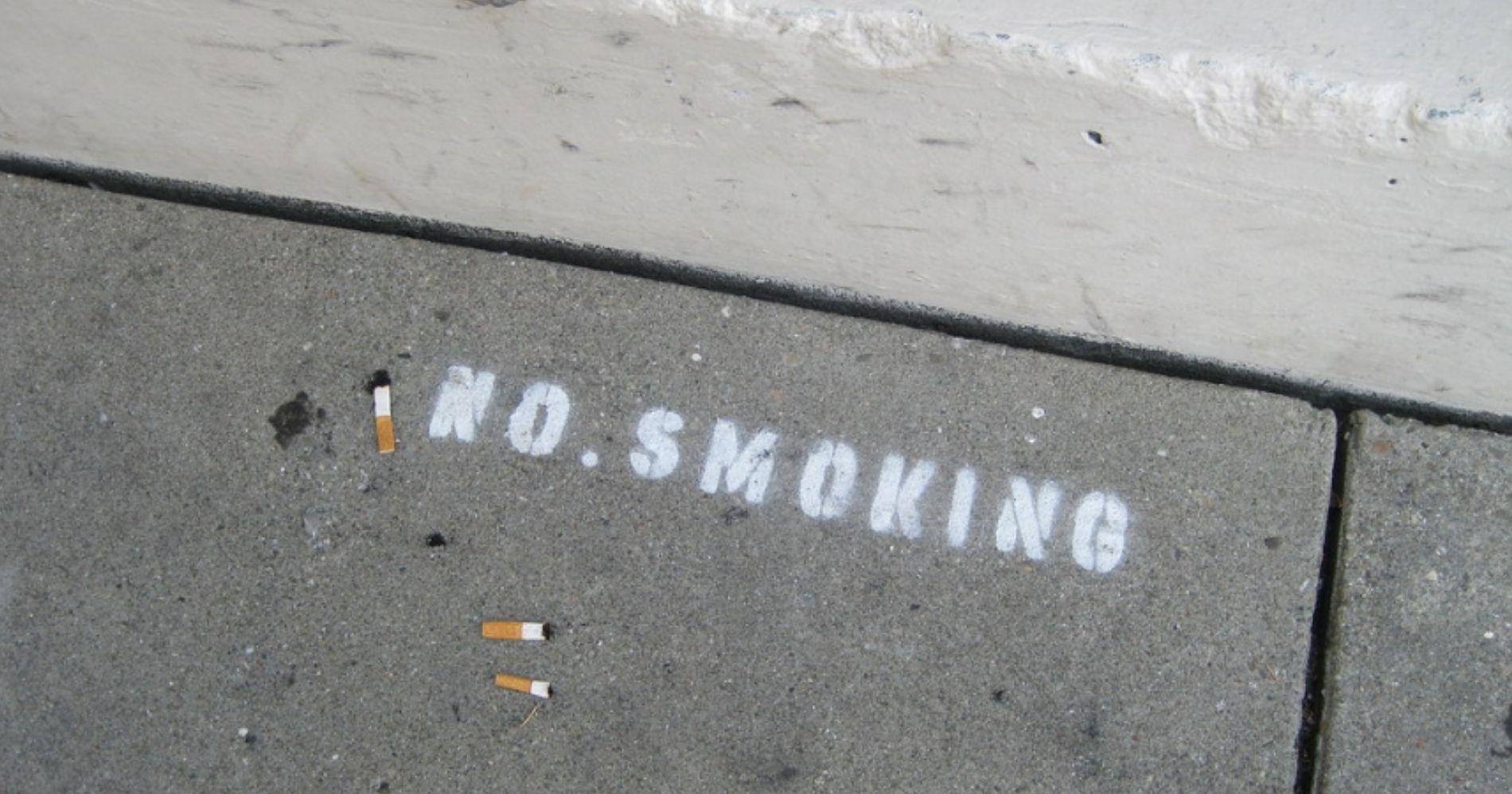 No Smoking Illustration Web Bisnis Muda - Image: Flickr